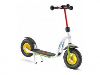 Puky R 03 L - Løbehjul til børn fra 3 år - Hvid/grøn
