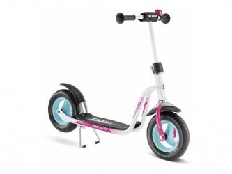 Puky R 03 - Løbehjul til børn fra 3 år - Hvid/pink