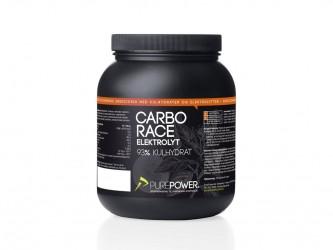 PurePower Carbo Race - Elektrolyt energidrik - Appelsin 1,5 kg