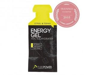 PurePower Energi Gel Citrus-Te 40gram
