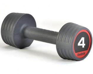 Reebok Gummi Håndvægte 4kg (2 stk.)