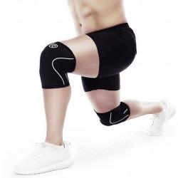 Rehband RX Knee Sleeve, 5mm, Steel Grey/Black, XL