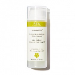 REN Clarimatte T-Zone Balancing Gel Cream, 50ml