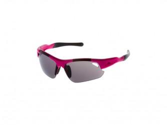 Rogelli Raptor - Cykelbrille - Lady - TR-90 - Smoke linse - Pink