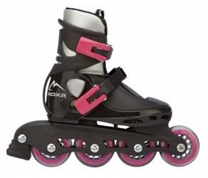 Roxa Bettle Jet - Rulleskøjter til børn - Sort/Pink