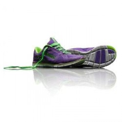 Salming Xplore Women, electric purple/lime green, Salming Sports