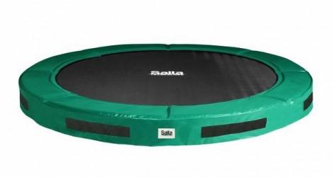 Salta trampolin Excellent Ground 305cm 366 cm grøn