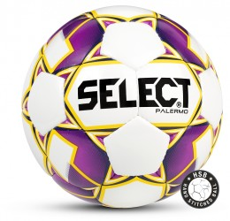 Select Palermo Fodbold hvid/lilla