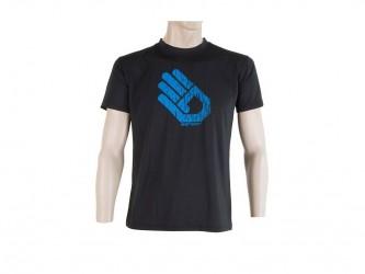 Sensor Coolmax Fresh PT Hand - T-shirt med korte ærmer - Sort - Str. XXL