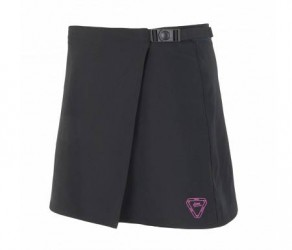 Sensor Cykelbukser/Nederdel med pude - Sensor Luna Skirt til damer - Sort