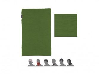 Sensor Merino Active halsedisse - Merino uld - Multi funktionel - Grøn - Onesize
