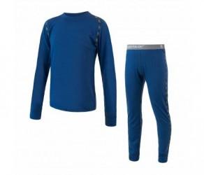 Sensor Merino Air Set JR - Skiundertøj til børn - Merino Uld - Blå