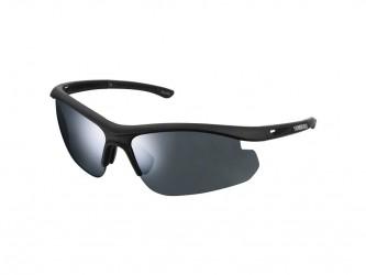 Shimano Cykelbriller - Solstice SLTC1 - med 2 linse farver - Matsort