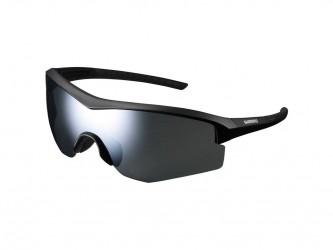 Shimano Cykelbriller - Spark - Smoke silver mirror linser - Matsort