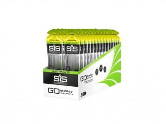 SIS Science in Sport SIS GO Range - Energy+Elektrolyte Gel - Lemon & Mint - 60ml - 1 stk