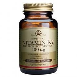 Solgar K2 Vitamin 50 kapsler