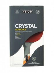 Stiga Crystal Advance 3* Bordtennisbat