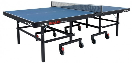 Stiga Elite Roller Advance Bordtennisbord - Inklusiv Fragt.