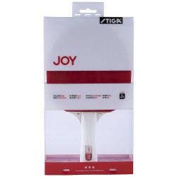 Stiga Joy 3* Bordtennisbat bat, rød/hvid