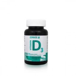 Strength Sport Nutrition Vitamin D3, 100 kapslar, Strength
