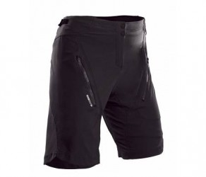 SUGOi Evo X loose fit cykelshorts med pude - Dame - Sort