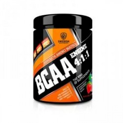Swedish Supplements BCAA Engine 4.1.1, 400 g, Strawberry Midsummer