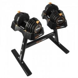 Taurus håndvægt SelectaBell 2 håndvægte + stativ