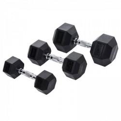 Taurus Hexagon håndvægtssæt 22,5-50 kg
