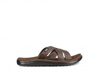 Teva M Voya Slide Leather - Sandal til mænd - Carafe - Str 44,5