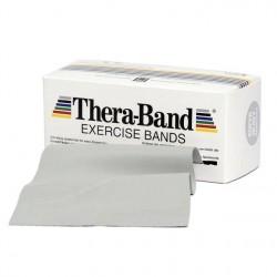 Thera-Band Træningselastik Bånd Level 6 Super Hård Sølv 45,5m