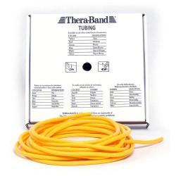 Thera-Band Tubing Level 1 Let Træningselastik Gul 7,5m