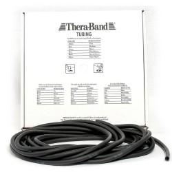 Thera-Band Tubing Level 5 Speciel Hård Træningselastik Sort 30,5m
