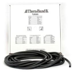 Thera-Band Tubing Level 5 Speciel Hård Træningselastik Sort 7,5m
