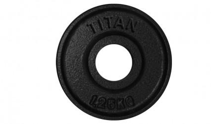 Titan Box Plate 50mm 1,25kg - Sort...