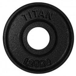 Titan BOX Plate Vægtskive 50mm 1,25kg