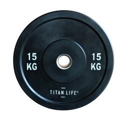 Titan LIFE Bumper Plate 15kg...