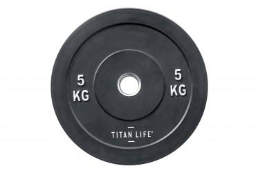Titan LIFE Bumper Plate Rubber 5kg...