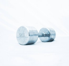 Titan LIFE Chrome Dumbbell 9kg...