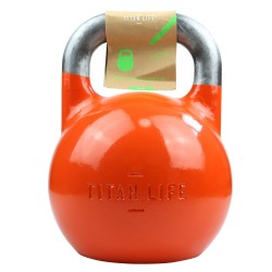 Titan LIFE Gym 28kg Kettlebell Steel Competition...
