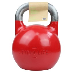 Titan LIFE Gym 32kg Kettlebell Steel Competition...