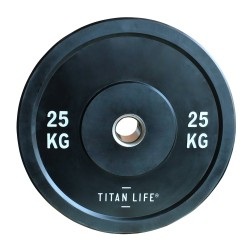 Titan Life Rubber Bumper Plate 25kg...