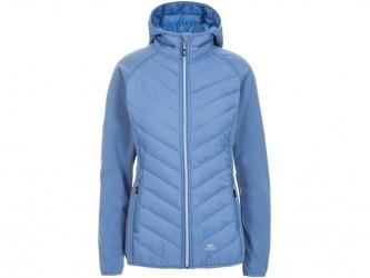 Trespass Boardwalk - Fleece jakke dame - Str. M - Denim Blue