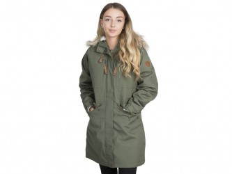 Trespass Faithful - Parka jakke dame - Str. S - Grøn