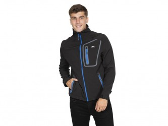 Trespass Hotham - Softshell jakke - Sort - Str. S