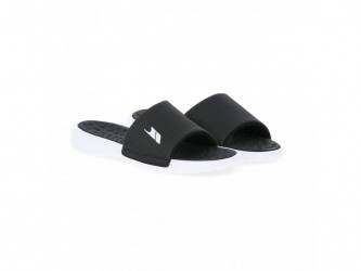 Trespass Slide - Polstret slide sandal - Hr. Str. 42 - Sort/Hvid