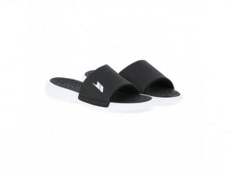 Trespass Slide - Polstret slide sandal - Hr. Str. 44 - Sort/Hvid