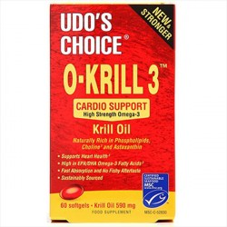 Udo´s Choice O-Krill 3 500 mg 60 kapsler