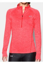 Under Armour Womens UA Tech 1/2 Zip Twist - Pink