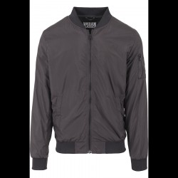 Urban Classics Light Bomber Jacket Black