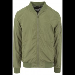 Urban Classics Light Bomber Jacket Olive
